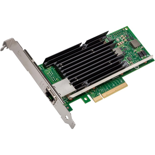 Intel X540T1BLK Ethernet Converged  Network Adapter 10 GbE Network Interface Controller single port configuration