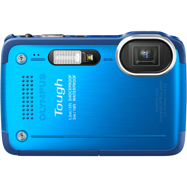 Olympus Tough TG-630 iHS 12 Megapixel Compact Camera - Blue
