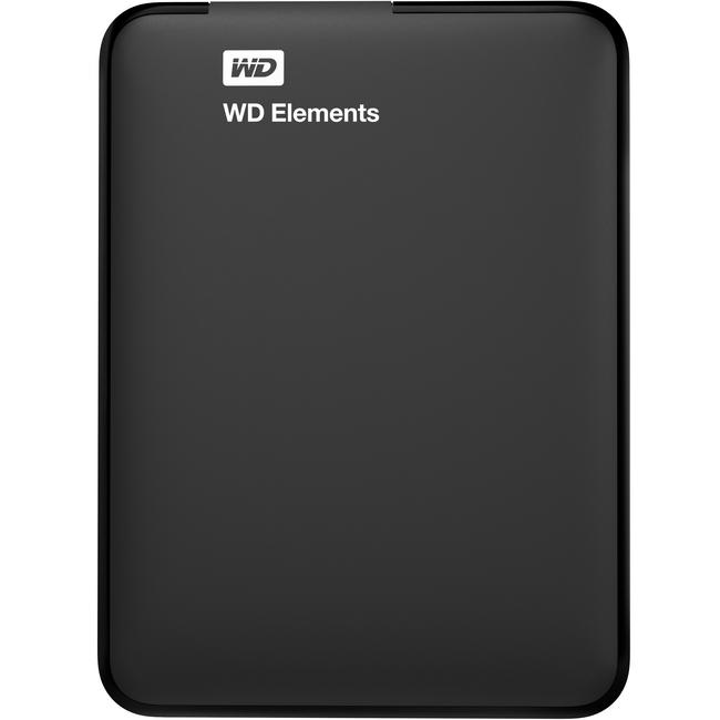 WD Elements 2TB USB 3.0 Portable Hard Drive