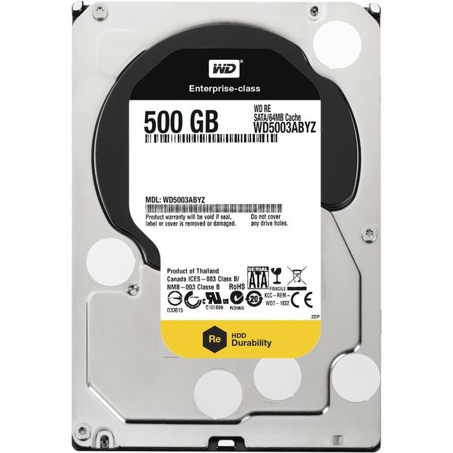 "WD RE WD5003ABYZ 500 GB 3.5"" Internal Hard Drive"