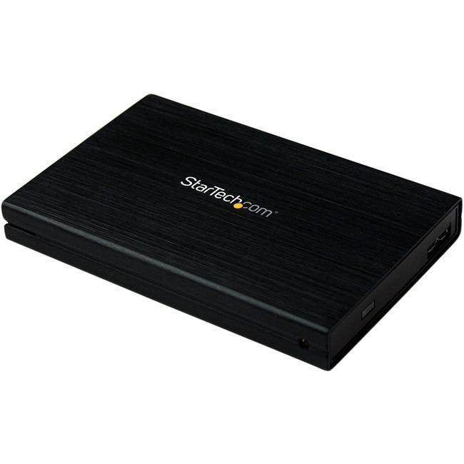 STARTECH 2.5IN ALUMINUM USB 3.0 EXTERNAL SATA III SSD HD ENCLOSURE W/ UASP