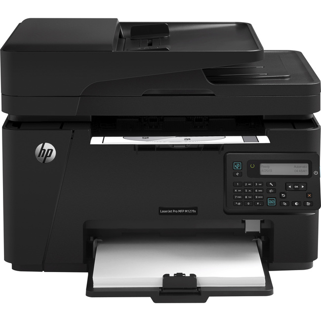 HP LaserJet Pro M127FN Laser Multifunction Printer - Monochrome - Plain Paper Print - Desktop