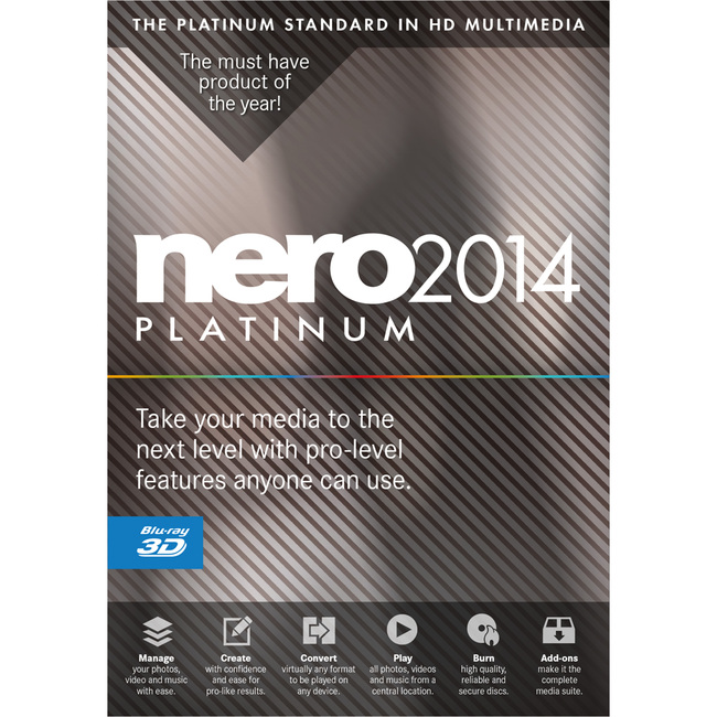 Nero 2014 Platinum v15 [MULTI l FRENCH]