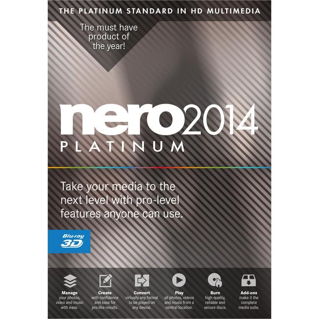 Nero 2014 Platinum v15 [MULTI l FRENCH]