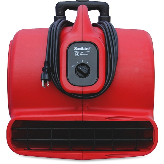 EUKSC6054 Electrolux Sanitaire Commercial Three-Speed Air Mover With Built-On Dolly, 5.0 Amp, Red, 25-Ft Cord photo