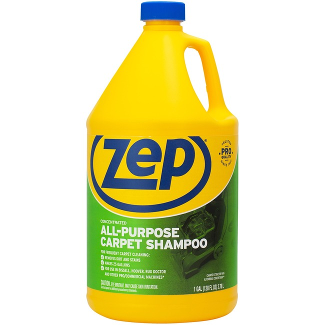 Zep Commercial Zep® Commercial Carpet Extractor Shampoo, 1 gal Bottle ...