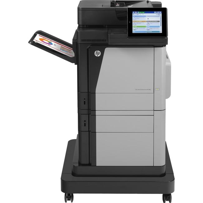 HP LaserJet M680F Laser Multifunction Printer - Color - Plain Paper Print