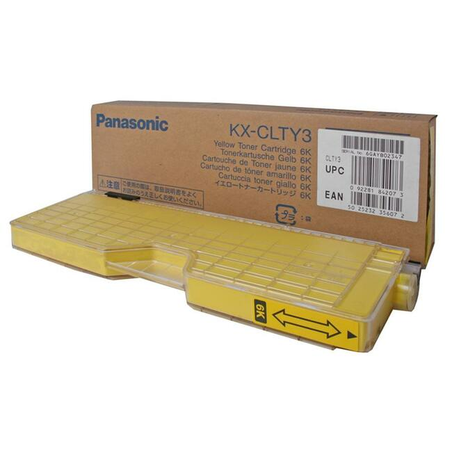 Panasonic Yellow Toner Cartridge