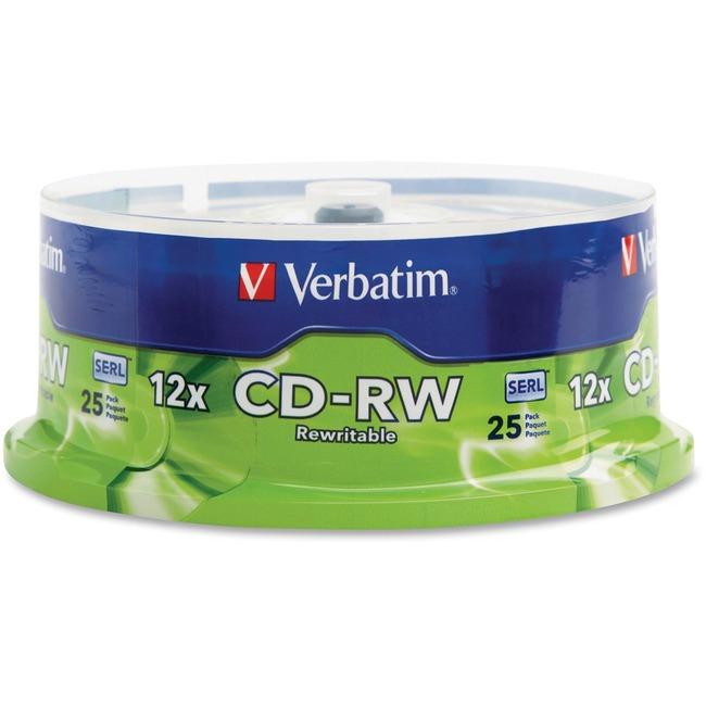 Verbatim 12x CD-RW Media