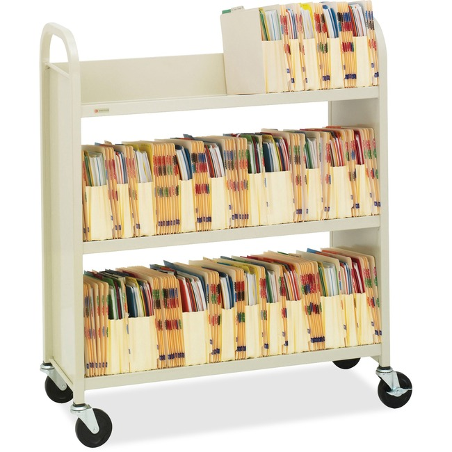 Bretford Single-Sided Book Truck