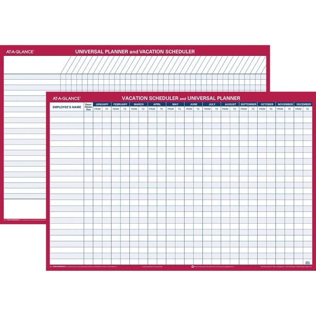 At-A-Glance Plan-A-Month Wall Planner