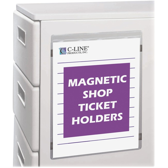 C-line Magnetic Shop Ticket Holder