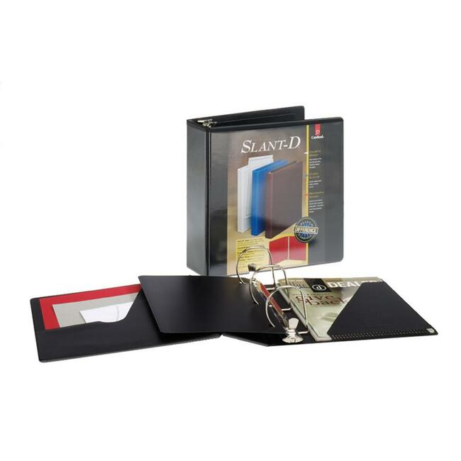 Cardinal ClearVue Slant-D Presentation Binder