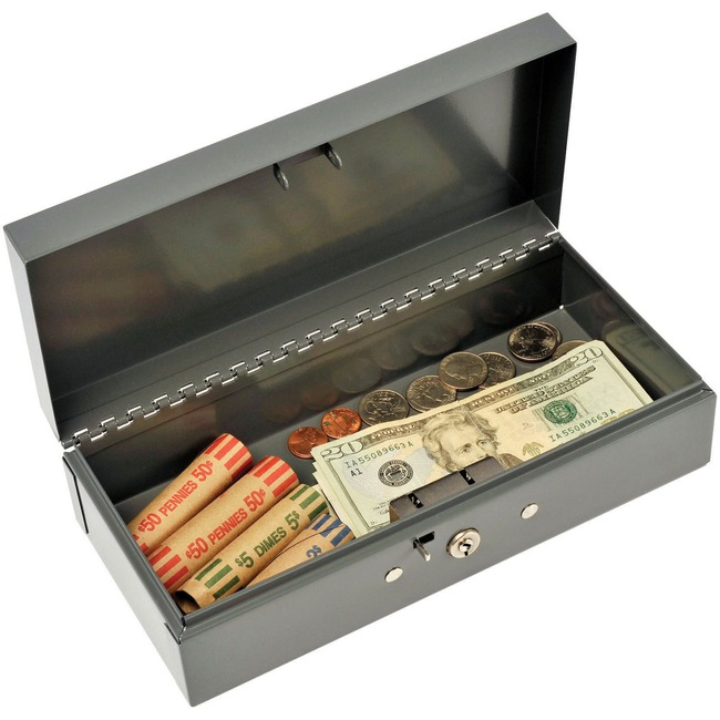 MMF Steelmaster Cash Box with Lock