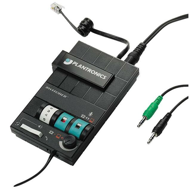 Plantronics MX10 Headset Switcher Multimedia Amplifier