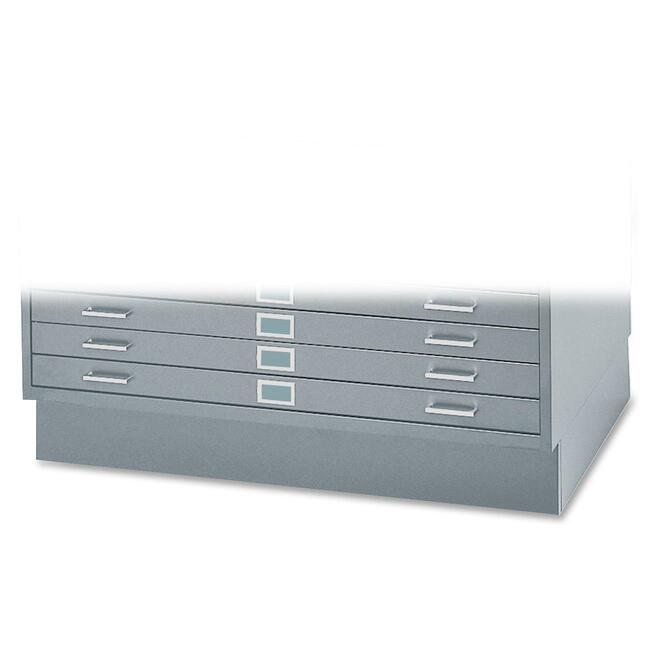 "Safco 6"" High Base for 5-Drawer Steel Flat Files"