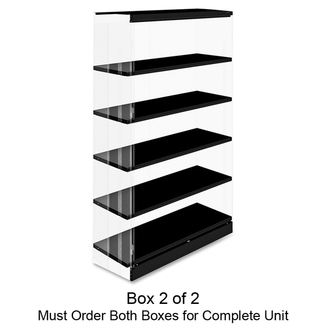 Tennsco Four-Shelf Kit for Jumbo Storage Cabinet