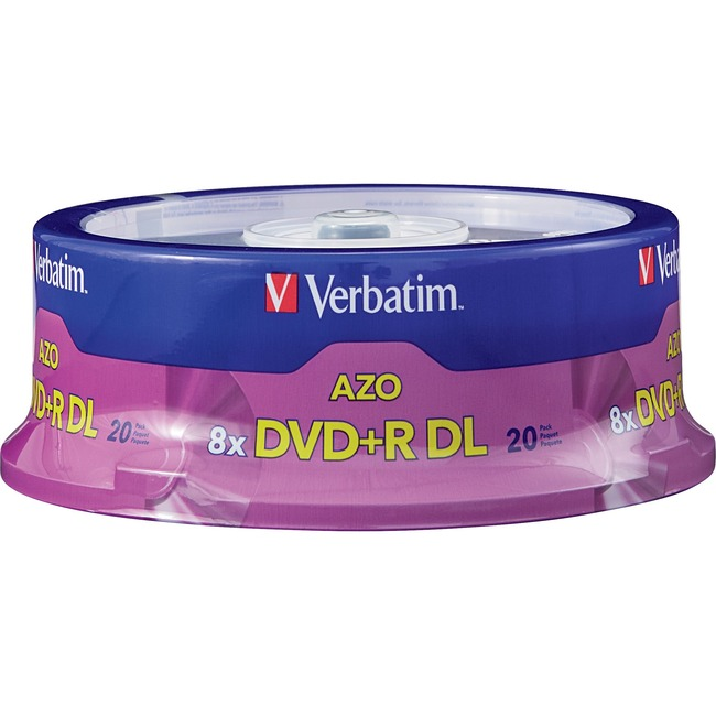 Verbatim 2.4x DVD+R Double Layer Media