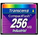 Transcend 256MB Compact Flash Card (100x) - 256 MB