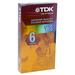 TDK VHS Videocassette - VHS - 6 Hour