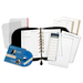 FranklinCovey 34687 Sedona Leather Organizer Deluxe Starter Set, 8 x 10-1/4, Black FDP34687 FDP 34687