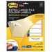 Post-it Super Sticky 2100I Removable File Folder Labels, 15/16 x 3 7/16, Assorted, 450/Pack MMM2100I MMM 2100I
