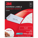 3M 3400F Permanent Adhesive Clear Laser Mailing Labels, 1 x 4, 1000/Pack MMM3400F MMM 3400F