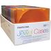 Memorex Slim Clear CD Jewel Cases 50 Pack