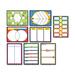 Carson Dellosa 110161 Bulletin Board Set, Graphic Organizer, 17'' x 24'', 8/PK, Multi, CDP110161, CDP 110161