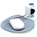 "Aidata Under Desk Swivel Ergonomic Mouse Platform White Via Ergoguys - 4"" x 7.8"" - White"