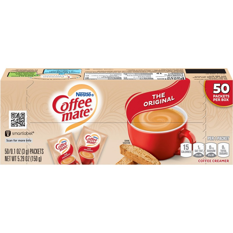 Nestle Coffee Mate Powdered Creamer Envelopes - 1000/Box