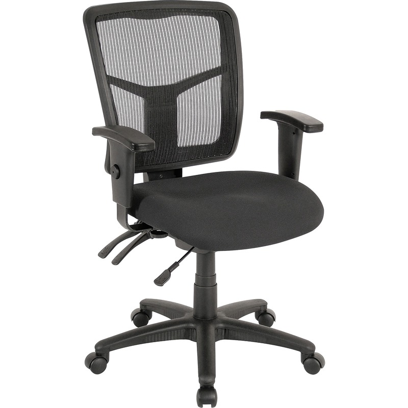 Lorell 86000 Series Managerial Mid-Back Chair
