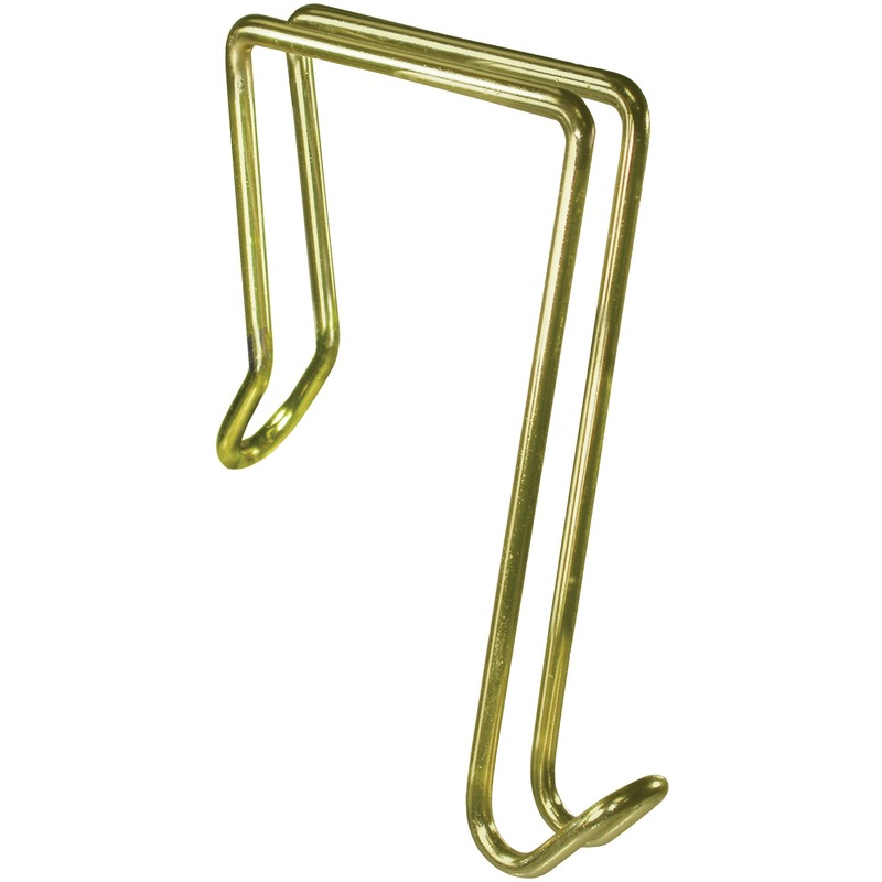 Artistic Steel/Golden Finish Garment Hook