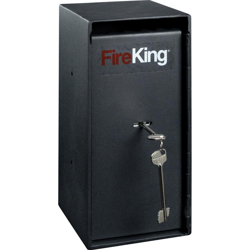 FireKing Trim Safe With Cash Drop Slots