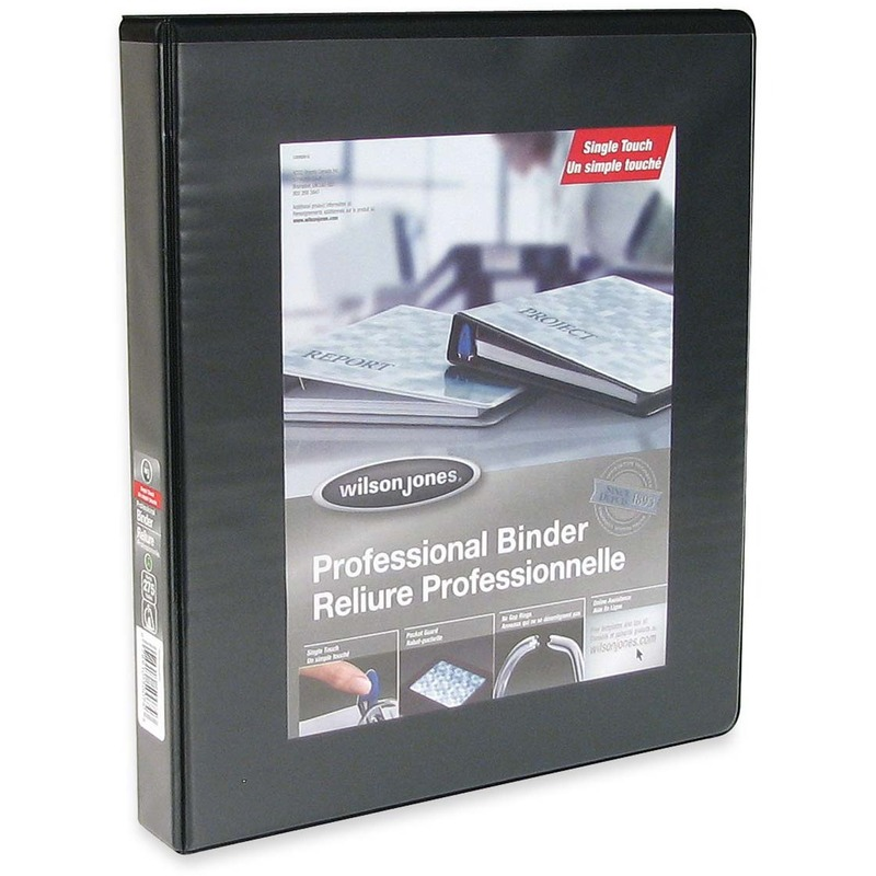 Wilson Jones Professional Round-ring Customizer Binder
