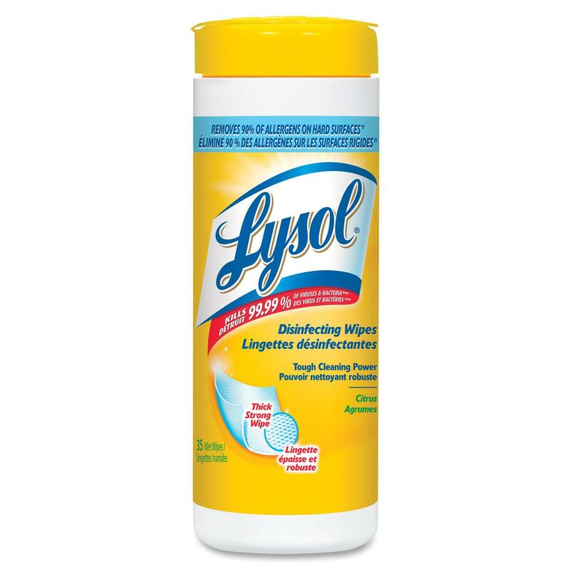 Lysol Disinfectant Wipes - Citrus Scent - 35/Pack