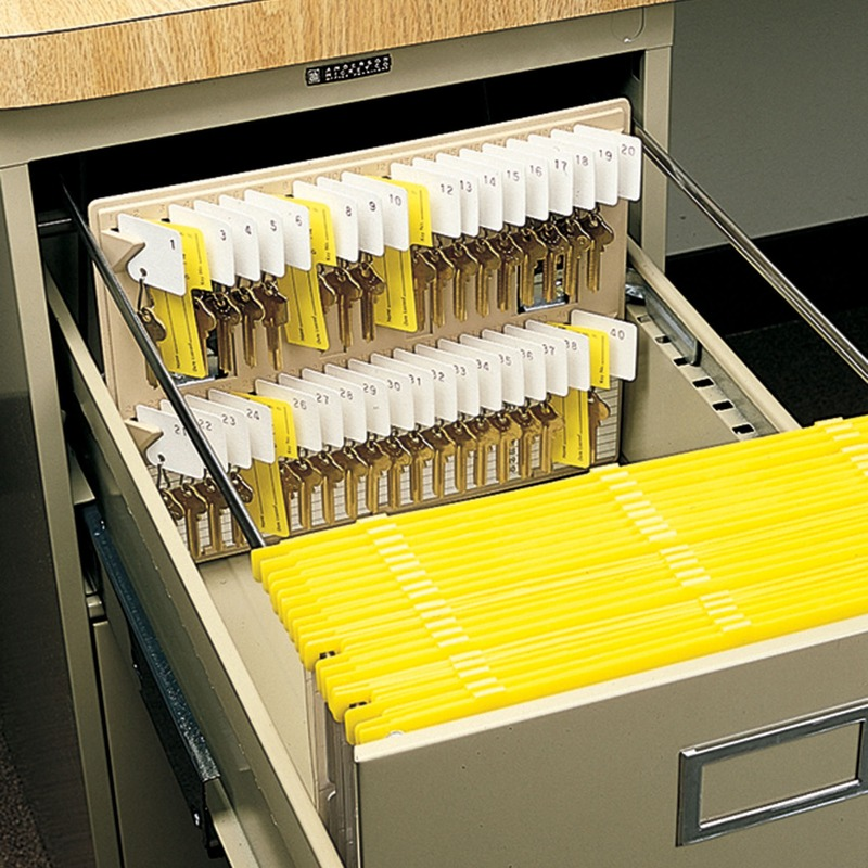 MMF File Drawer Key Rack