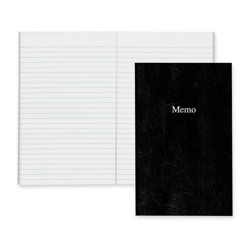 Blueline Side Opening Memo Book
