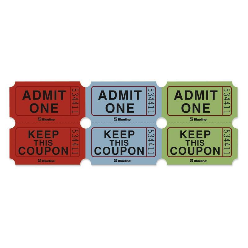 Blueline Admission Ticket