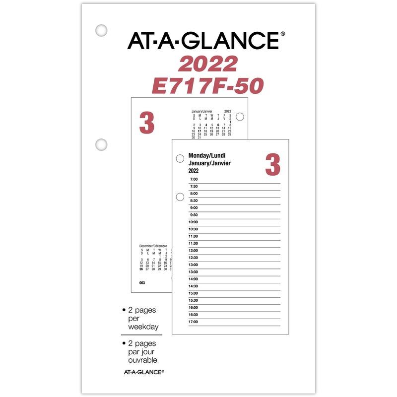 At-A-Glance Daily Desk Calendar