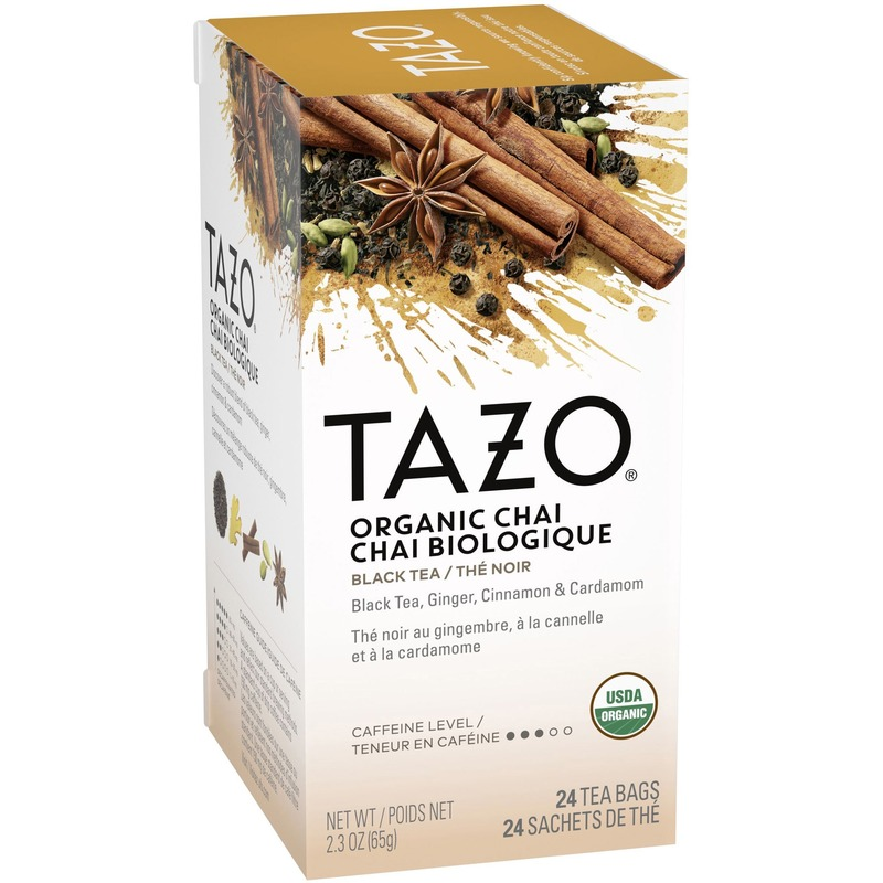 Starbucks Tazo Organic Chai Tea 24 ct