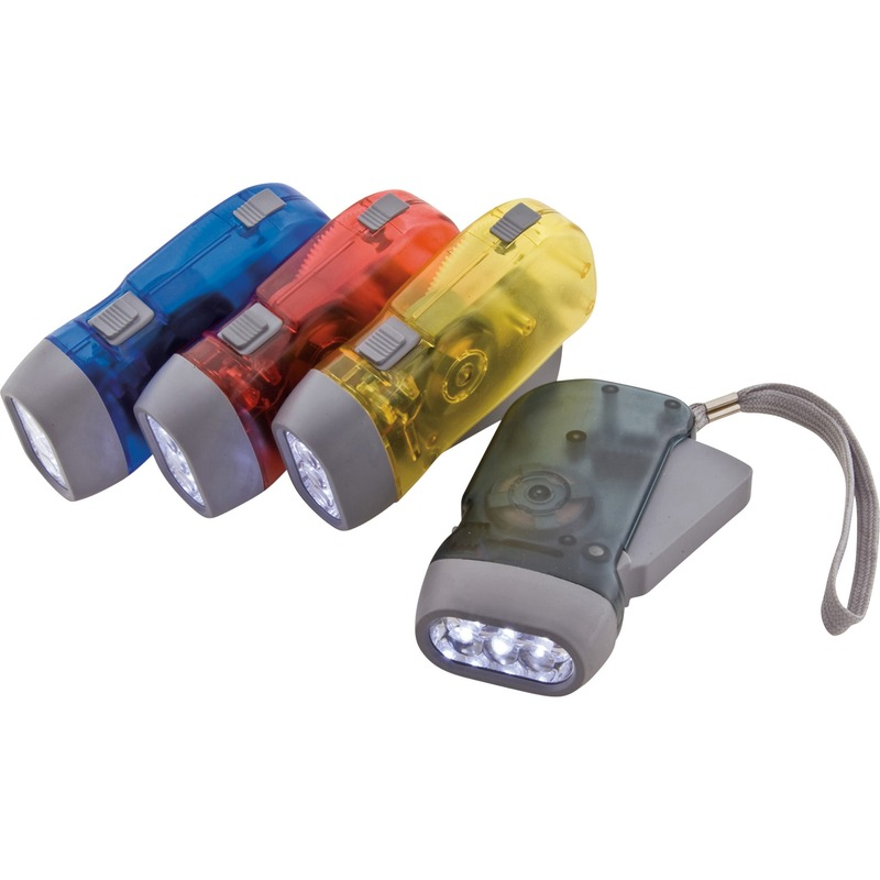 Mobile OPS Easy Squeeze LED Flashlight