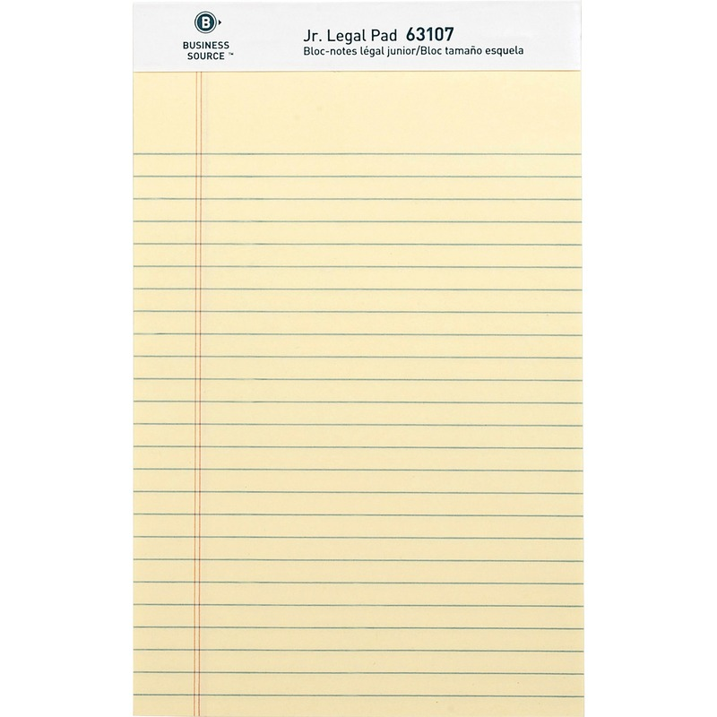 Business Source Legal Ruled Pad