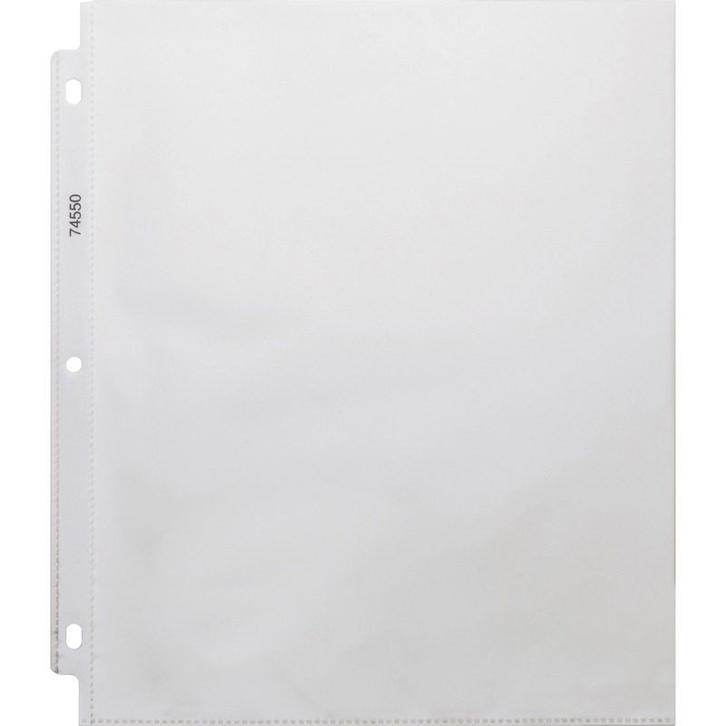 Business Source Top-Loading Heavyweight Clear Sheet Protector