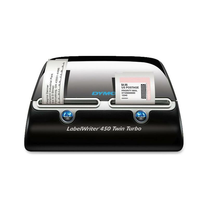 Sanford LabelWriter 450 Twin Turbo Direct Thermal Printer - Monochrome - Label Print