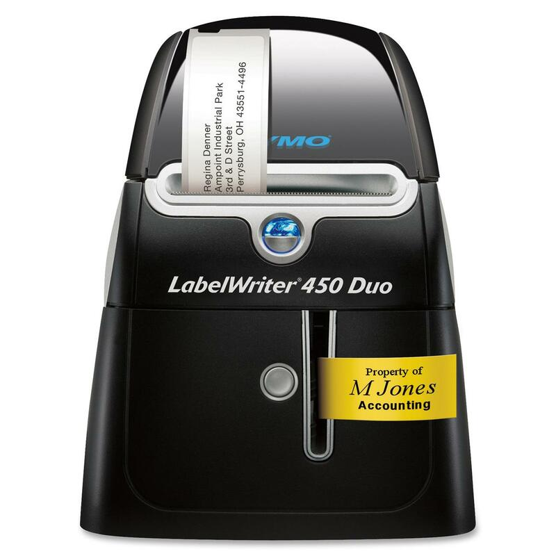 Sanford LabelWriter 450 DUO Direct Thermal Printer - Monochrome - Label Print