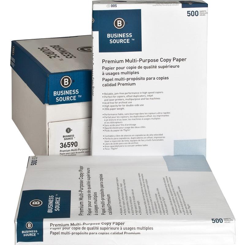 Business Source Multipurpose Copy Paper