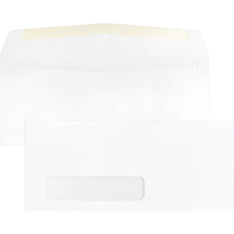 Business source single window envelope for 10 x 13 window envelope