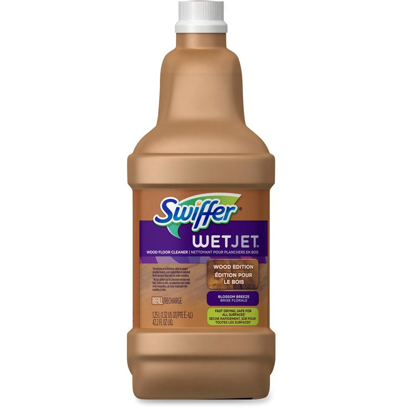 Swiffer WetJet Wood Floor Cleaner Solution Refill - Inviting Home Scent