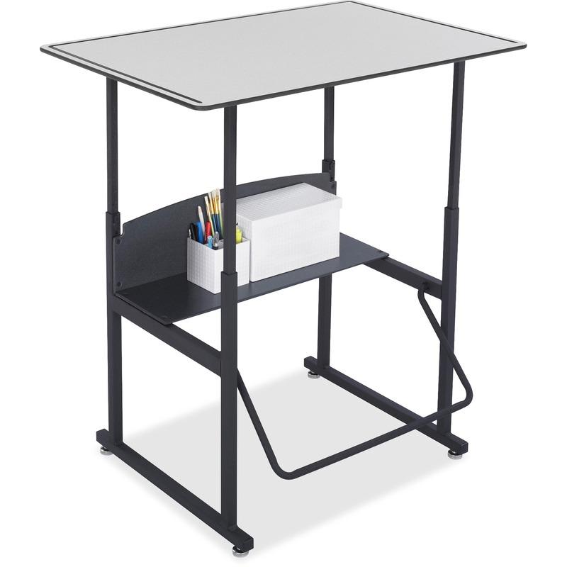 Safco AlphaBetter Desk, 36 x 24 Premium Top, w/o Book Box